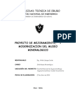 Proyecto Museo 2005