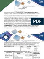Guía - Paso 1 - Principios Termodinámicos y Termoquímicos