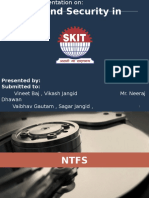 NTFS and Windows Security