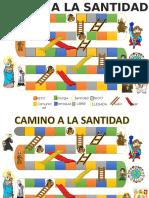 Tablero de Juego Camino a La Santidad