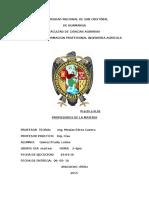 Informe II Quimica