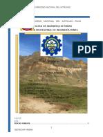 ROCAS IGNEAS- Geotecnia Minera