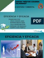 Eficiencia y Eficacia