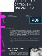 Arquitectura y Critica en Latinoamerica