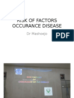 RISK OF FACTORS OCCURANCE DISEASE.pptx