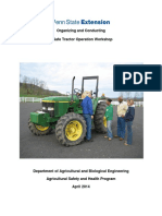 2014 Organizing and Conducting a Safe Tractor Operation Workshop