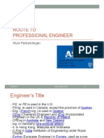 Route to Professional Engineer - Sapri - 23022017