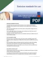 Mandatory Emissions Standards - Fact Sheet
