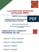 Preparacion Para Examen de Certificacion PMP