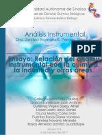 Ensayo Final  Introducción al análisis instrumental