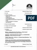 Budget meeting materials (May 9)