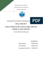 Economectrics Report