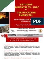 Estudios Ambientales Certificaciones