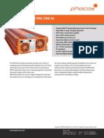 Phocos Datasheet MPPTsolid-230 100 e Web