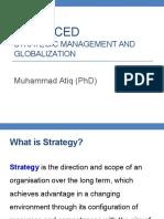 Advanced Strategic Management