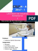 Lab 2 Pruebas Fisicoquímicas de La Calidad y Nociones de Microbiología Capacidades Terminales
