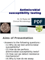 Antimicrobial Susceptibility Testing FK 2012