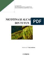 Nicotina Si Alcaloizii Din Tutun