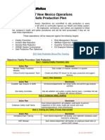 2017 New Mexico Safe Production Plan Guide Final