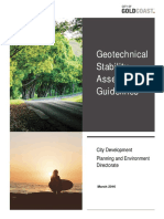Geotechnical Stability Guidelines