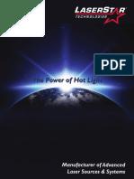 LaserStar Technologies Product Catalog 9.16