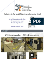 Industry 4.0 and Additive Manufacturing Jorge Lopes Da Silva