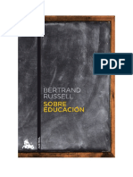 Sobre Educacion by Bertrand Russell (Read Book Unlimited)