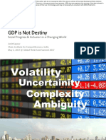 GDP is Not Destiny