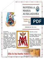 Novena Maria Auxiliadora