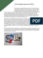 Motionless Electromagnetic Generator (MEG)