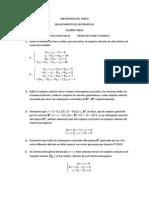 Ejercicios III Algebra Lineal