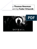 Skyfall Orchestra Score