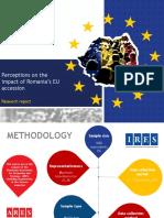 IRES_Perceptions on Romania's EU Accession
