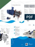 DPHM Horizontal Pump Brochure DP-Pumps