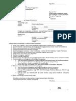 Form KLINIK SWASTA.doc