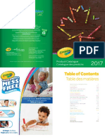 2017 Crayola ProductCatalogue