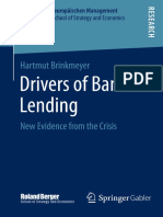 Hartmut Brinkmeyer Auth. Drivers of Bank Lending New Evidence From the Crisis