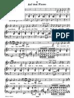 Schubert »Auf Dem Flusse«