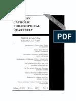 Moran_Pantheism in Eriugena and Cusa (1990)