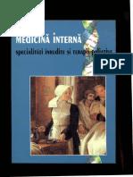 Mincu Mioara Medicina Interna Specialitati Inrudite Si Terapii Paliative