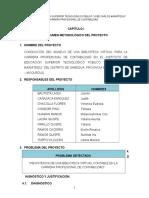 Informe de Ejecucion de Proyecto Productivo Final 2015 Ok Ok