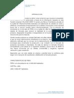 Estudio de Mercados Peru