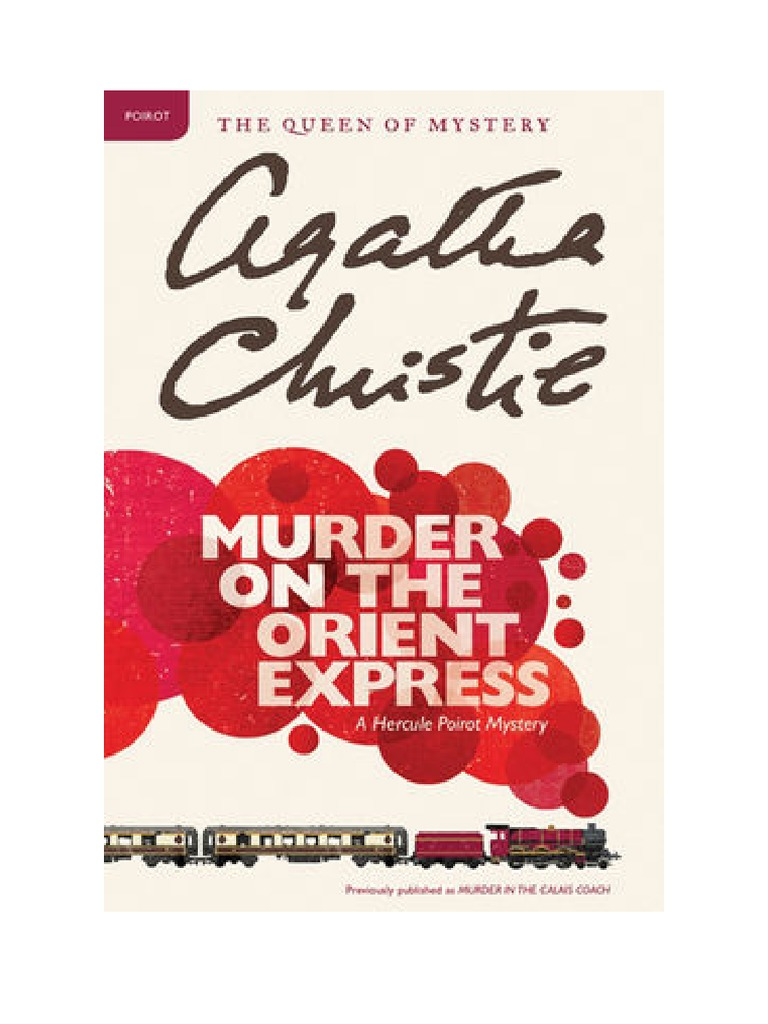 (pdf Ebook) Murder On The Orient Express By Agatha Christie Download Book  Online  Novels  E Books