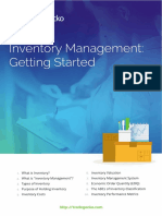 TradeGecko Inventory Management Getting Started