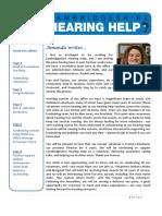 Cambridgeshire Hearing Help Newsletter May 2017