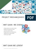 project mediawijsheid les 1
