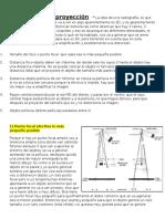 Leyes de la proyección  →La idea de una radiografía