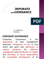nike corporate governance