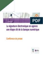 Signature Electronique Une Étape Clef de La Banque Numérique
