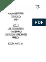 Presentacion ASME Seccion VIII